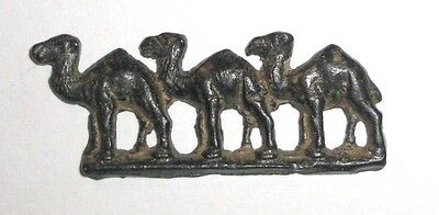 Ancient Roman Empire, 1st - 3rd c. AD. Bronze zoomorphic decoration of camels