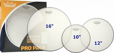 Remo Silentstroke Rock Fusion Mesh Drum Head Pack PP-2262-SN