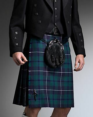 Douglas Modern 5 Yard Wool Made in Scotland Kilt Usually £199 All Sizes New