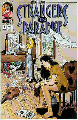 Strangers in Paradise (Vol. 3) # 5 (Terry Moore) (USA, 1997)