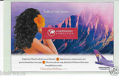 Hawaiian Airlines Follow Me Home 767 Daily Service To 8 Western Cities Ad