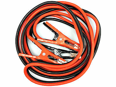 16Ft 6 Gauge Car Truck Van Suv Tangle Free Jumper Cables Power Booster Free Bag