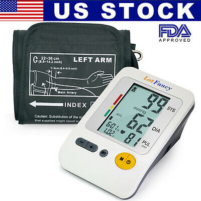 Automatic Digital Arm Blood Pressure Cuff BP Monitor Test Machine Adapter Large