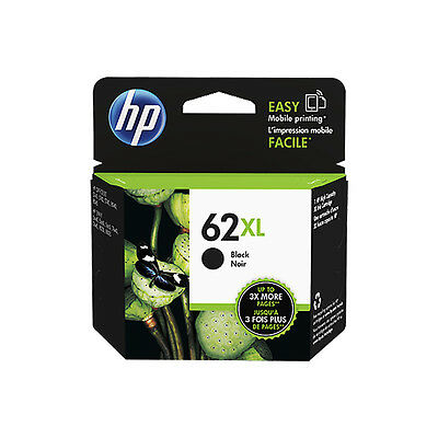 Genuine HP 62XL Black Ink for Envy 5640 7640 Officejet 5740 5742 5744(C2P05AE)