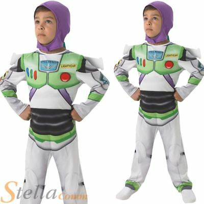 Boys Buzz Lightyear Disney Toy Story Fancy Dress Costume Licensed Child Outfit