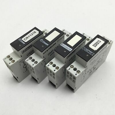 Lot of 4 Crouzet Gordos GMS-OAC 84130105 Solid State Relays 5 Amp Max Current