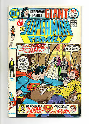 Superman Family Vol 1 No 172 Sep 1975 (VFN) Giant Size 68 Pages, Bronze Age