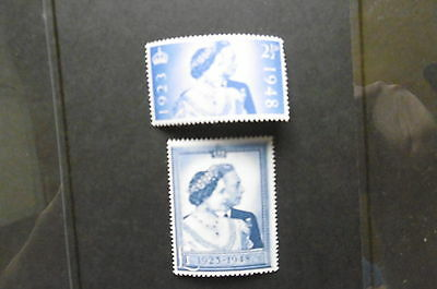GB 1948 SILVER WEDDING Stamps Set 2v Unmounted Mint REF:914g