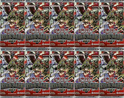YuGiOh Star Pack Arc-V 1st Edition New and Sealed Booster Packs x10