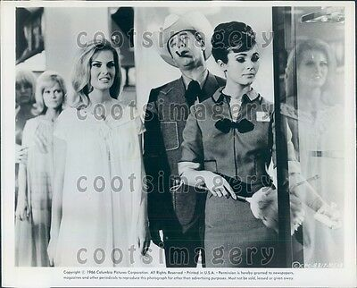 1966 Comic Actor Jerry Lewis in Three on a Couch Mary Ann Mobley Press Photo