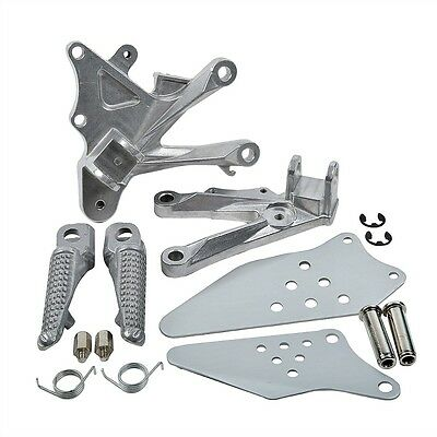 Rider Front Foot Peg Footrest Hanger Assembly for Kawasaki ZX-10R 06-10