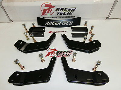 New Brp Can Am Commander 2 In. Suspension Lift Kit Heavy Duty Black Gen 3