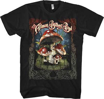 ALLMAN BROTHERS BAND - Many Mushrooms T SHIRT S-2XL New Official Live Nation