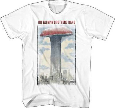 ALLMAN BROTHERS BAND - Mushroom Building T SHIRT S-2XL New Official Live Nation