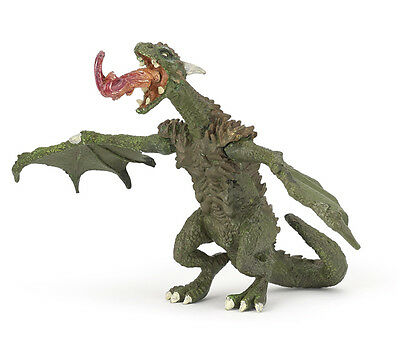 Papo 36006 Articulated Dragon Model Gamer Role Play Figurine Toy 2015 - NIP