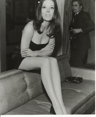 Avengers Diana Rigg as Emma Peel Seated on Couch 8 x 10 Photo
