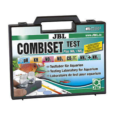 Aquarium Water Testing Kit JBL Test Combi Set Plus NH4