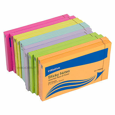"""1200 Neon & Pastel Colour Large Sticky Notes 5"""" x 3"""" Big Paper Memo Note Pads"""