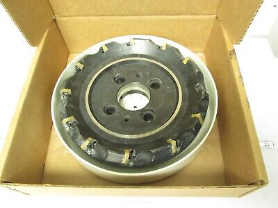 "Sumitomo UFO 410R Indexable Shell Mill 10"" Cutting Diameter *Missing Inserts*"