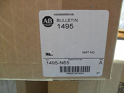 NEW NO BOX !!!!  Allen Bradley 1495-N65 Protective Fuse Cover SER A   NO BOX new