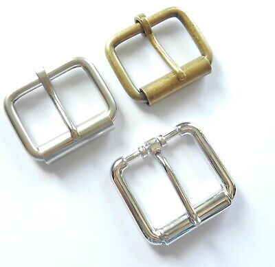 "1 1/2"" Inch - 40Mm Heavy Duty Single Roller Quality Belt Buckle 3 Finishes"