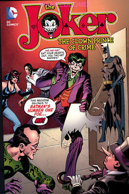 THE JOKER CLOWN PRINCE OF CRIME TPB 1975 #1 2 3 4 5 6 7 8 9 BATMAN CATWOMAN NEW
