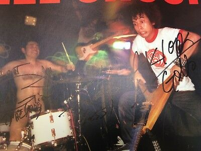 Electric Eel Shock Go USA! Gearhead Signed Promo Poster Japanese Rock N Roll