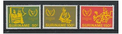 Surinam - 1981 Disabled Persons set - MNH - SG 1046/8