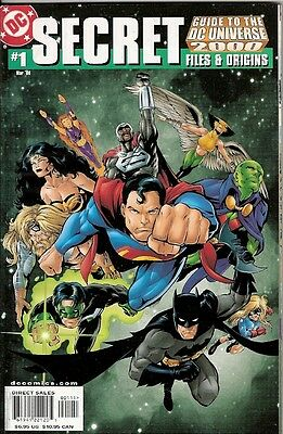 Guide To The Dc Universe 2000: Secret Files & Origins #1 (Dc) 100 Pages