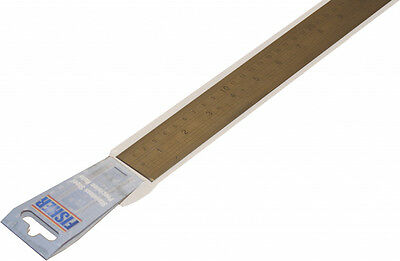 Fisher Stainless Steel Rule - English & Metric Markings 39""
