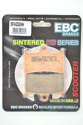 EBC Sintered Double-H Brake Pads - SFA252HH for 09-11 Yamaha XP500 T-Max Apps.