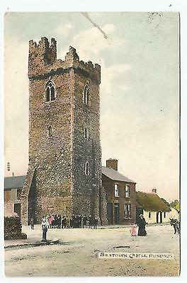 irish postcard ireland louth seatown castle dundalk