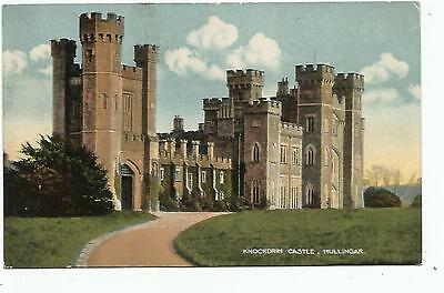 irish postcard ireland westmeath mullingar knockdrin castle