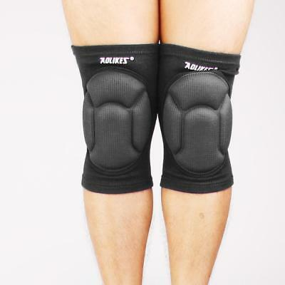 Thicken Sponge Foam Padded MMA Volleyball Wrestling Knee Cap Pads Protector