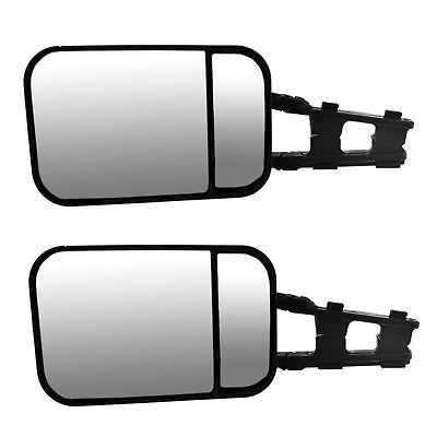 PAIR Caravan Towing Mirror Extension Adjustable for Shaped or Large Mirror TR197