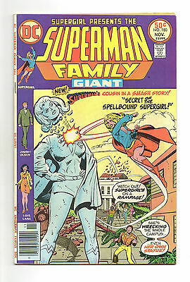 Superman Family Vol 1 No 180 Nov 1976 (VFN) Giant Size 68 Pages, DC, Bronze Age