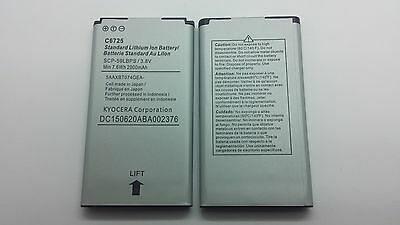 Lot Of 2 New Battery For Kyocera C6725 C6730 Hydro Vibe Hydro Icon Scp-59Lbps