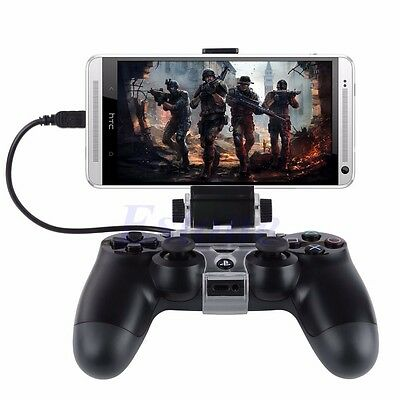 For PlayStation PS4 Game Controller Mobile Phone Smart Clip Clamp Mount Holder