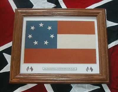 American Civil War Flag, 7 Star Flag, Stars and Bars, 1st National Southern Flag