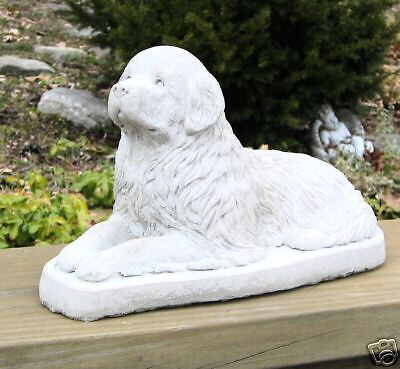 Concrete Newfoundland Dog Statue / Monument