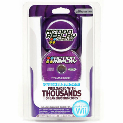 Datel Action Replay Cheats Codes System For Gamecube & Nintendo Wii - 210232