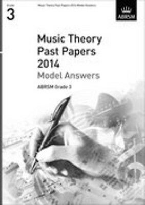 Theory Exams Model Answers Grd 3 (2014); ABRSM, FMW - 9781848497146