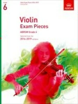 Violin Exam Pieces 2016-2019, ABRSM Grade 6, Score & Part; Book, Unknown Book