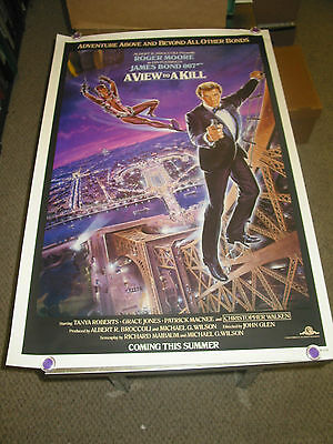 A View To A Kill /or. U.s. One Sheet Tsr Movie Poster B(James Bond/roger Moore)