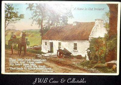 "Old Postcard of ""A Home in Ireland"" 1946"