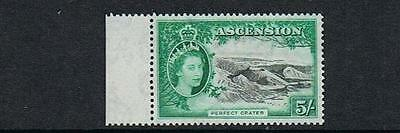 STAMPS  from  ASCENSION  1956 Q. ELIZABETH  II   5/-  (MVVLH)  lot  A 48