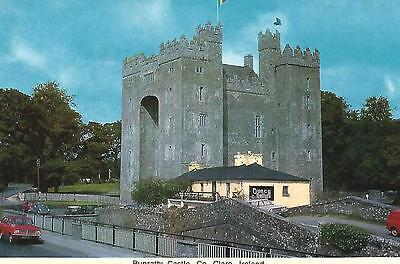 irish postcard ireland clare bunratty castle