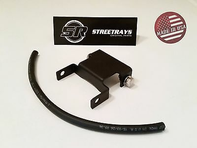"StreetRays 96-15 Harley Davidson Dyna 2"" Black Tank Riser Bracket Extension Kit"