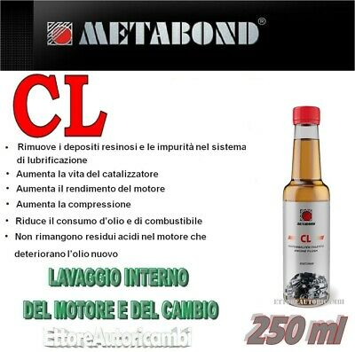 Metabond Cl - Lavaggio Interno Del Motore E Del Cambio - Super Cleaner 250Ml