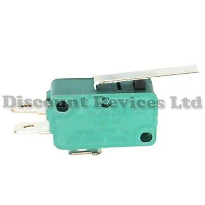 Microswitch 1 Circuit 10A  250V on-on Micro Switch SPDT Long Lever